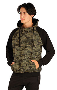Hoodies, jackets LITEX > Men´s hooded jumper.