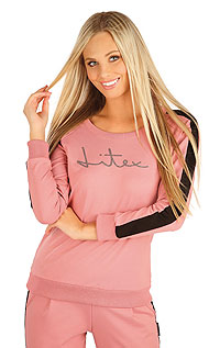 Hoodies, turtlenecks LITEX > Women´s sweatshirt with long sleeves.