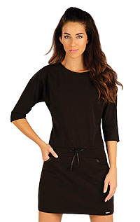 Women´s dress with 3/4 length sleeves. LITEX