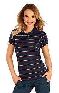 Polo tričko dámské s krátkým rukávem. LITEX