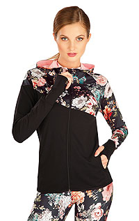 Jogging LITEX > Women´s hoodie jacket.