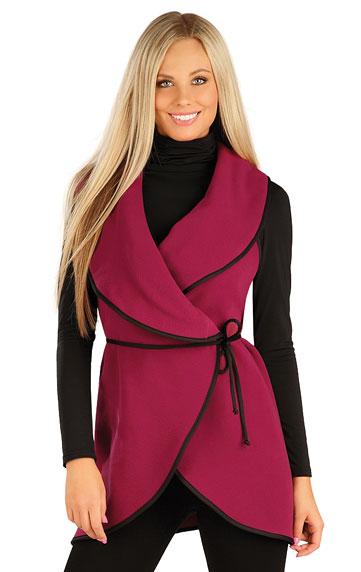 Fleecová vesta dámska dlhá. | Vesty a bundy LITEX
