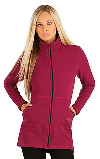 Vests and jackets LITEX > Women´s fleece sweatshirt.