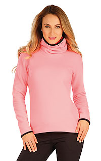 Sale LITEX > Damen Fleece Rollkragenpullover.