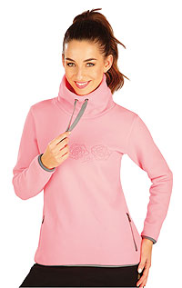 Hoodies, turtlenecks LITEX > Women´s fleece sweatshirt.