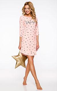 Pyžamá, nočné košele LITEX > Dámska nočná košieľka s 3/4 rukávom.