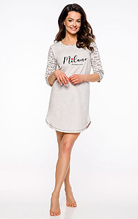 Pánské oblečení LITEX > Noční košilka dámská s 3/4 rukávem.