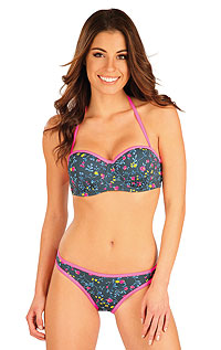 Swimsuit LITEX > BANDEAU bikini top with cups.