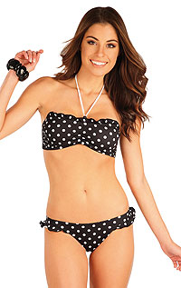 Swimsuit LITEX > BANDEAU bikini top with no support.