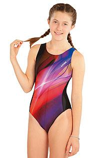 Litex Dívčí jednodílné sportovní plavky. 63646164 0 - vel. 164 viz. foto