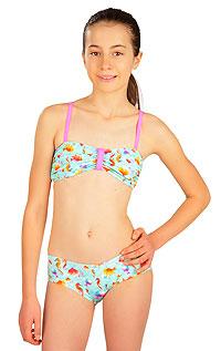 Dívčí plavky LITEX > Dívčí plavky BANDEAU podprsenka.
