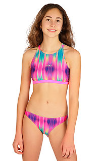 Dívčí plavky LITEX > Dívčí plavky kalhotky bokové.