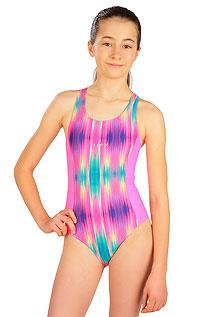 Dívčí plavky LITEX > Jednodílné sportovní dívčí plavky.