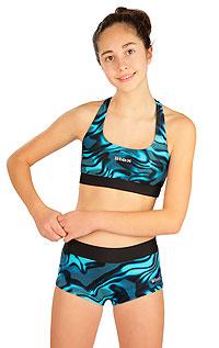 Dívčí plavky LITEX > Dívčí plavky kalhotky bokové s nohavičko