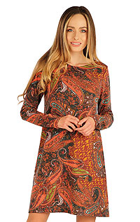 Dresses, skirts, tunics LITEX > Women´s dress with long sleeves.