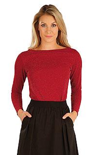 Litex Svetr dámský s dlouhým rukávem. 7A015XL 307 - vel. XL červená