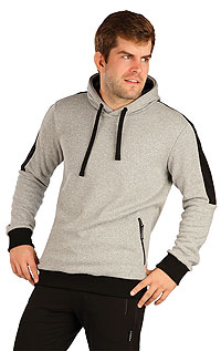 MEN'S SPORTSWEAR LITEX > Men´s hooded jumper.