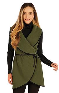 Bundy, vesty, kabátiky LITEX > Fleecová vesta dámska dlhá.