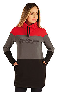 Sweatshirts, Hoodies LITEX > Fleece Damen Lange Sweatshirt.