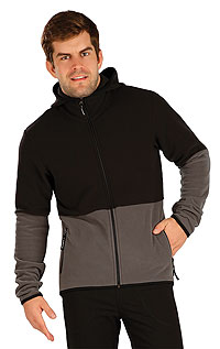 MEN'S SPORTSWEAR LITEX > Men´s fleece hooded jumper.