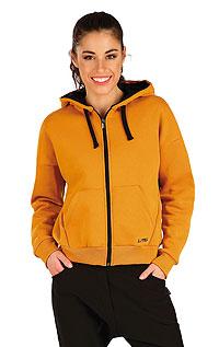 Mikina dámská na zip s kapucí. LITEX