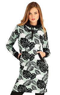 Litex Mikinové šaty s kapucí. 7A321XL 999 - vel. XL tisk