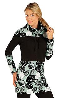 Litex Mikinové šaty s dlouhým rukávem. 7A322XL 999 - vel. XL tisk