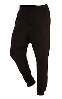 MEN'S SPORTSWEAR LITEX > Men´s drop crotch long joggers.