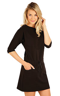 Dresses, skirts, tunics LITEX > Women´s dress with 3/4 length sleeves.