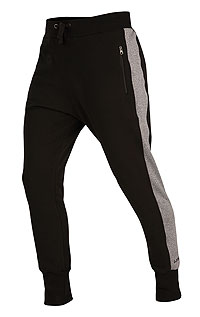 Trousers and sweatpants LITEX > Men´s drop crotch long joggers.