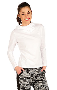 T-Shirts, tops, blouses LITEX > Women´s T-shirt with hood.
