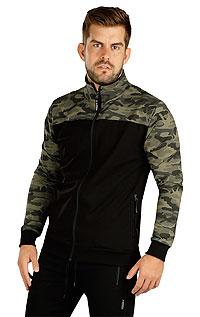 Pánske športové oblečenie LITEX > Mikina pánska na zips.