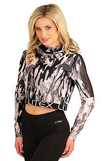 Trička LITEX > Crop top tričko.