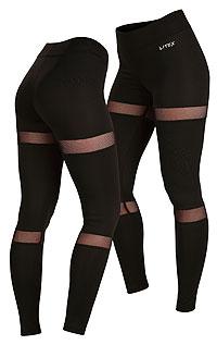 Fitness oblečenie LITEX > Legíny dámske dlhé.