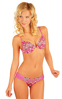 Discount LITEX > Bikini top with push-up cups.