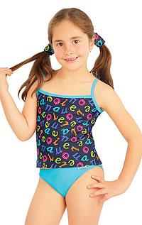 Dívčí kalhotky bokové. | Dívčí a dětské plavky LITEX