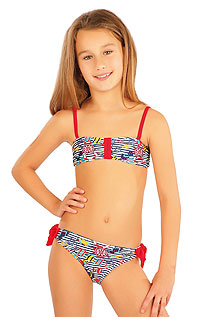 Kid´s swimwear - Discount LITEX > Girl´s bikini BANDEAU top.