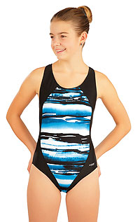 Kid´s swimwear - Discount LITEX > Girl´s one-piece sport swimsuit.