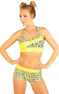 Dámske plavky - zľava LITEX > Plavkový športový top bez výstuže.