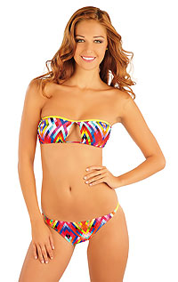 Swimwear Discount LITEX > BANDEAU bikini top with removable pads.