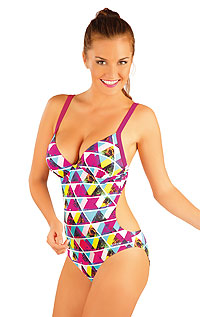 One-piece swimsuit with cups. LITEX