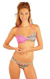 BANDEAU bikini top with cups. LITEX