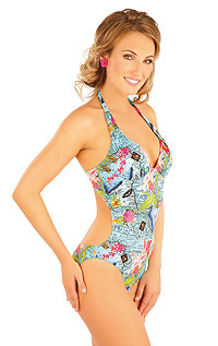 One-piece swimsuit with push-up cups. LITEX