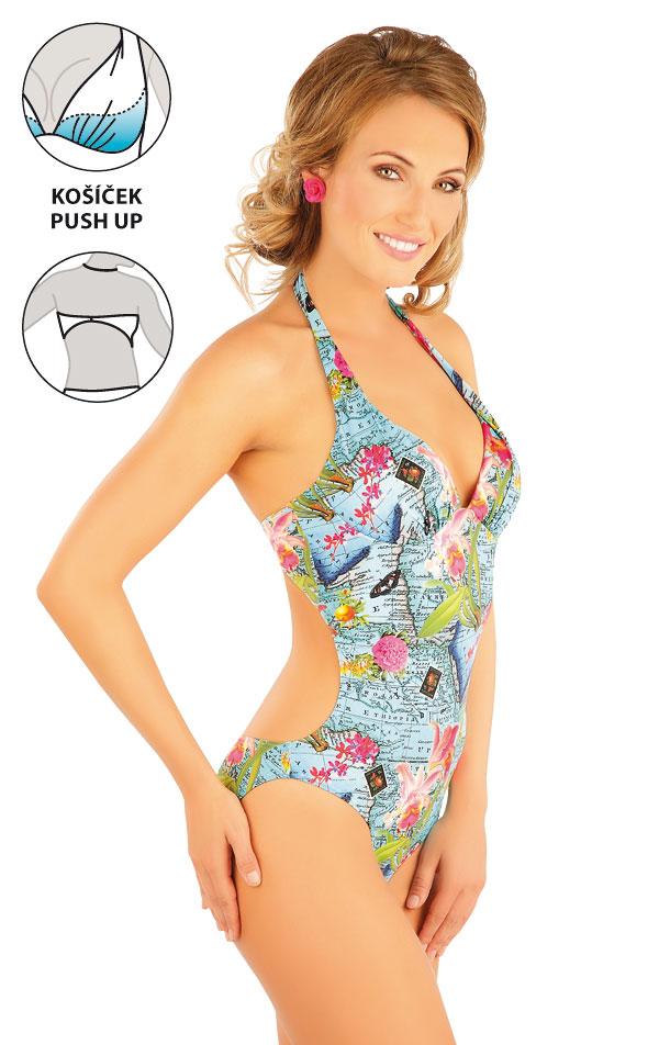 a3145edfb00 Jednodílné plavky s košíčky push-up. 88198