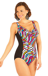One-piece swimsuit with underwired cups. LITEX