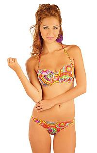 BANDEAU bikini top with push-up cups. LITEX