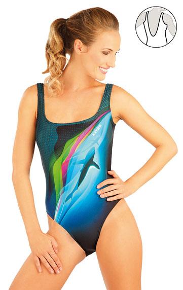 Jednodielne športové plavky. | Športové plavky LITEX