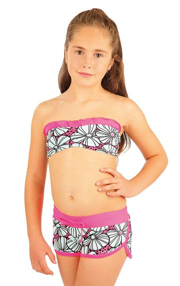 Dievčenské plavkové kraťasy. | Detské plavky - zľava LITEX