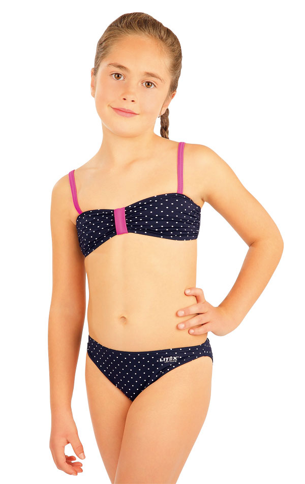 Girls swim bandeau bra. 88454 | LITEX