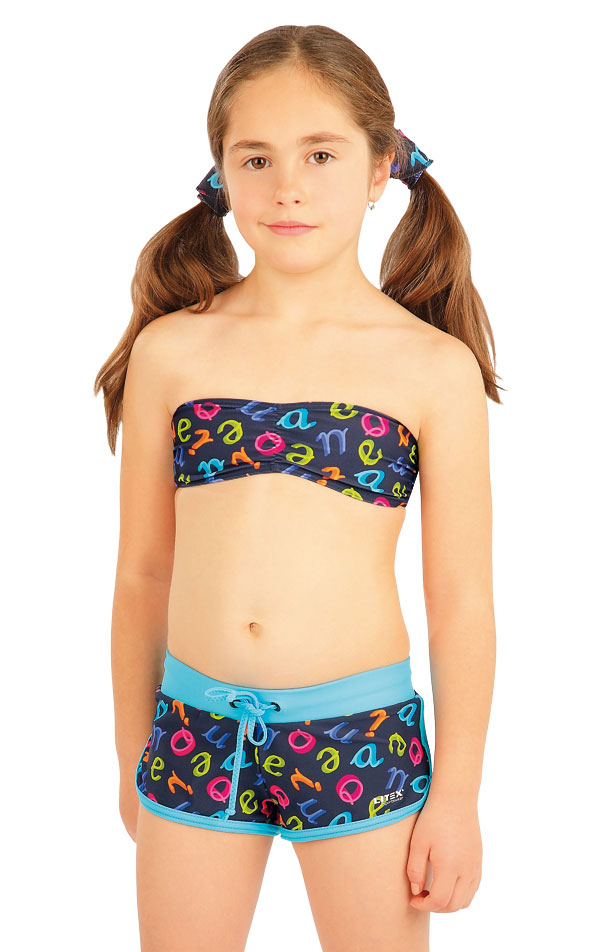 Girls swim bandeau bra. 88484 | LITEX